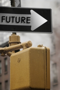 Future Street Sign - image by bigstock photo