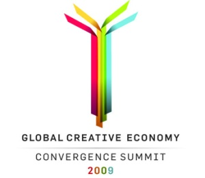 Global Creative Economy Convergence Summit, logo 2009
