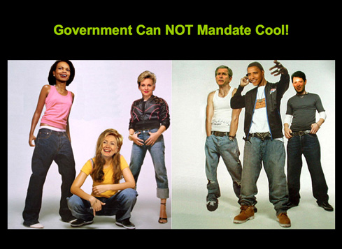 Government can NOT mandate cool