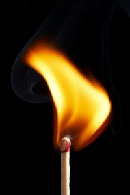 match on fire (bigstockphoto)