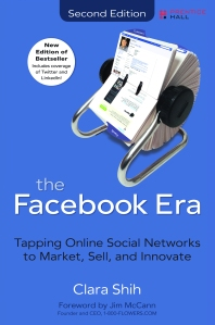Book Cover_The Facebook Era by Clara Shih