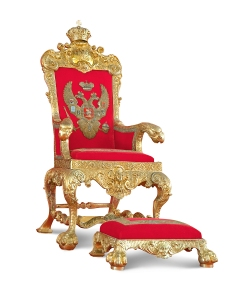 Golden Royal Throne